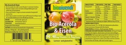 BIO Acerola & Eisen