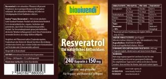 Resveratrol Antioxidantien